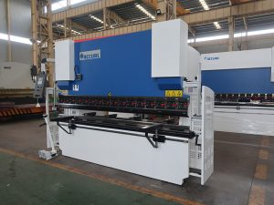 100T 2500 2 axis control hydraulic press brake bending machines