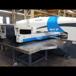 30 ton CNC servo hydraulic turret punch press