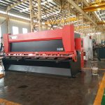 12x3200mm steel plate guillotine machine 3000mm metal sheet shearing machine 12mm Electrical