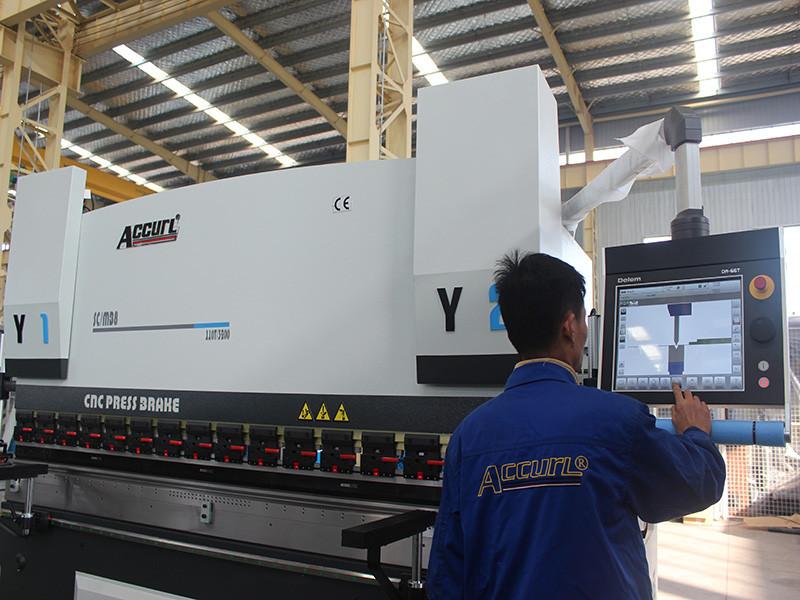 6 axies press brake