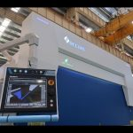 8 axis CNC hydraulic press brake 110 ton 3200mm