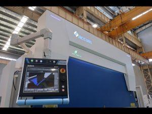 8 axis CNC hydraulic press brake 110 ton 3200mm