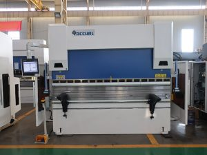 china made hydraulic cnc press brake stainless steel sheet metal bending machine
