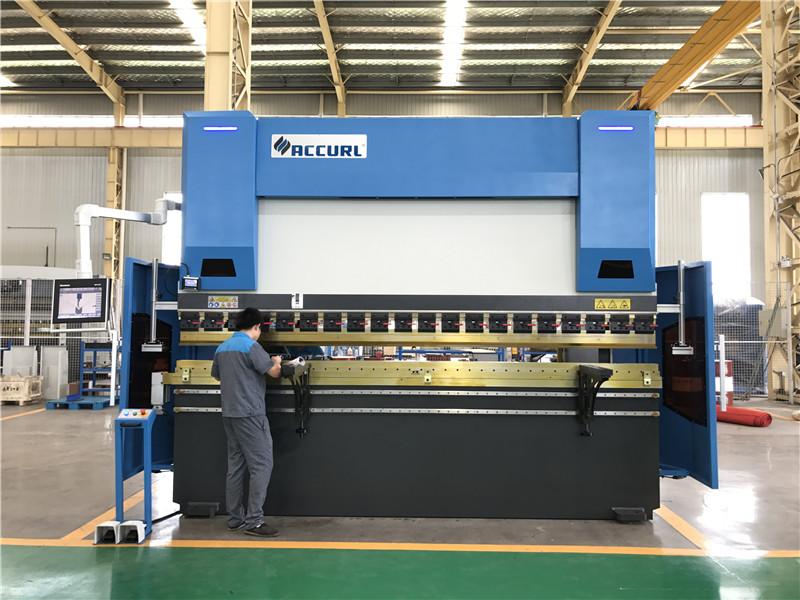 ACCURL cnc press brake DA58T 4axis 4000mm