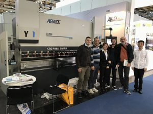 Accurl participated in German Exhibition in 2016