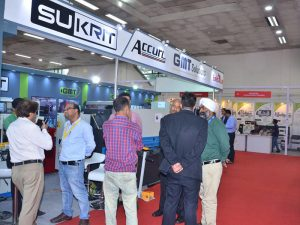 Accurl participated in the India Exhibition in 2016