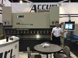 Accurl took part in the American Exhibition in 2017