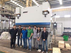 Brazil Customers Visit Factories and Buy Press Brake Machines