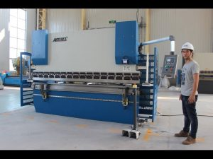 CE 2 axis CNC Press Brake 130Tx3200 E200 NC Control System NC Press Brake Machine