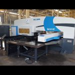 CNC servo driven ram turret punch press 50 ton for servo cnc punching machine
