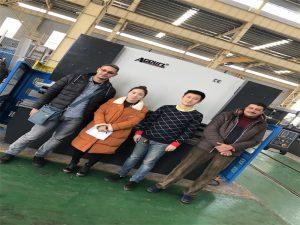 Egypt Customers Buy Press Brake Machine From Accurl Companies