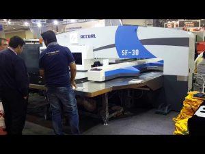 High quality servo cnc hydraulic turret punch press machinery