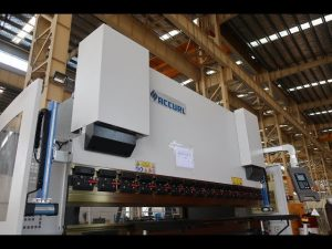 Hydraulic NC press brake / sheet metal bending machine MB7-125Tx3200