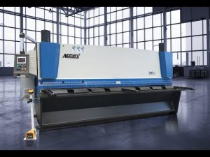 Hydraulic guillotine shearing machine MS8 8x4000mm with germany ELGO P40T touch screen CNC
