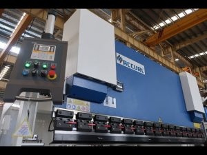 Hydraulic press brake MB7-100Tx3200mm with defender lazersafe and ELGO P40 NC system