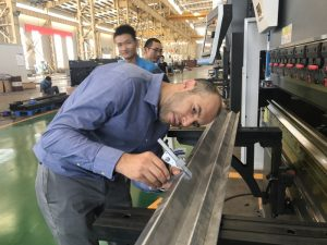 Iran Client Testing Machine in Our Factory 2
