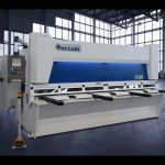 Master hydraulic guillotine shears MS8 3206 with ELGO P40T touch screen CNC system