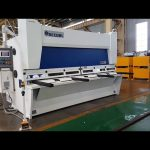 Master variable rake guillotine shearing machine with ELGO P40T CNC system