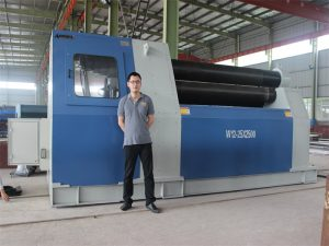 Thailand Customers Purchase W12 Rolling Machine from Accurl Company