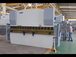 Torsion bar hydraulic NC press brake MB7-125Tx3200