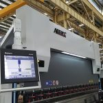 Delem DA52 hydraulic bending machine, accurate positional Horizontal press brake price, cnc angle iron