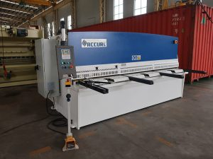 aluminum plate cnc shearing machine