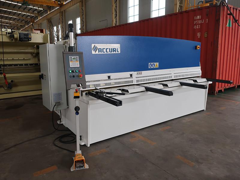 aluminum cnc shearing machine
