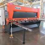 QC11y K-4X2500 sheet metal steel hydraulic guillotine shearing machine for iron aluminum cutting