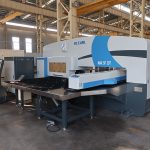 siemens cnc amada turret punching machine 4 axis 32 stations horizontal