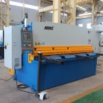 QC11y-16X3200 cnc cutting stainless steel automatic hydraulic iron plate guillotine shearing machine with E21
