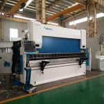 automatic 600 ton press brake machine , sheet metal bending machine double guided ram