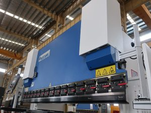 hydraulic cnc press brake 300t 3200 with E21 controller