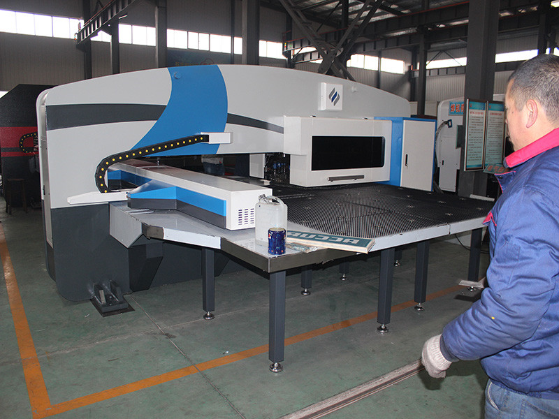 cnc turret punch press used