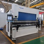 WC67Y-80T/2500 80T steel plate cnc press brake machine