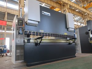 e21 manual press brake machine