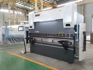 high power cnc sheet metal brake press machine , servo electric press brake