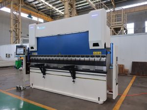 durable welding tools 80T/3200mm air high temperature heat pump press brake with DA66T controly system