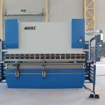 300t*4000 heavy duty 4 axis da52s cnc press brake