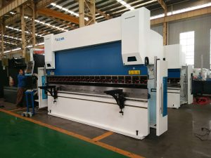 high precision and speed WC67K hydraulic cnc press brake