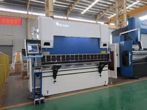 hydraulic press brake bending metal sheet 12mm 3 meter