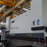 6-axis hydraulic cnc press brake 200 Ton 3100mm for cnc backgauge X R Z1 Z2-axis