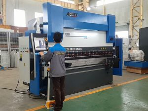 6 axis cnc hydraulic press brake bending machine for sheet metal 8000mm 1200TN