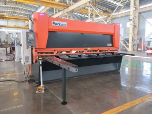 many types of guillotine shearing machine