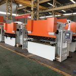 building material steel plate material wc67y 300 ton 5000mm press brake supplier in China