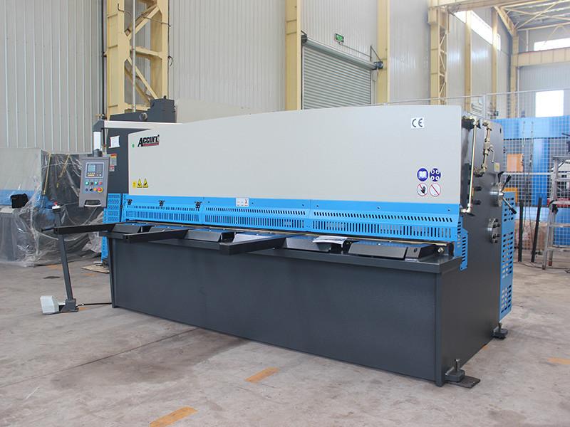 hydraulic sheet metal guillotine cutting machine cnc