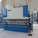 with E200 system Wc67 hydraulic press brake