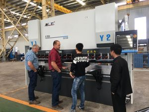 stainless steel plate cnc press brake machine price for sale