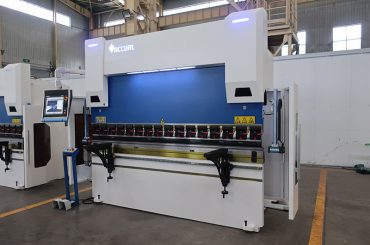 press brake with 3 cylinders
