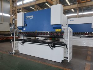 40ton 2200 hydraulic nc press brake with E21S numerical controller shipping to Phillipine