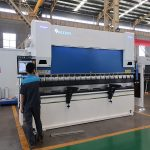 WC67Y Series full servo cnc 4 axis press brake with DA52S control system plate bending machine